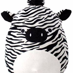 "Squishmallow Kelly Toy Tony the Zebra 12"" Plush"
